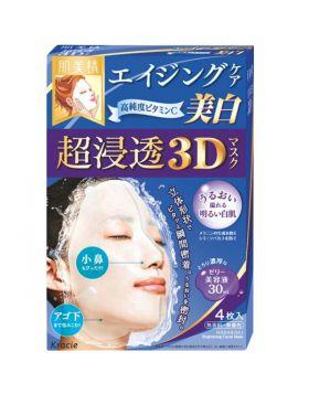 肌美精 超浸透3Dエイジングケア美白 4枚入 クラシエホームプロダクツ