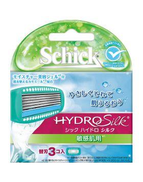 ハイドロシルク 敏感肌用 替刃(3個入) シックジャパン