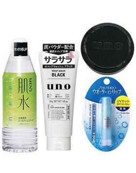 【福袋】資生堂福袋 メンズセットA(洗顔料+化粧水+リップクリーム+ワックスミニ) 資生堂