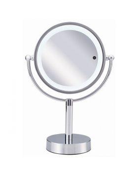 小泉成器 拡大鏡 丸型卓上タイプ (鏡径17cm) KBE-3090/S 1台