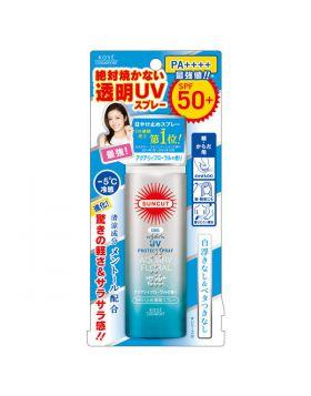 SUNCUT(サンカット)絶対焼かない透明UVスプレー アクアリティフローラルの香りSPF50+/PA++++ 50g 日焼け止めスプレー コーセーコスメポート