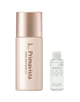ソフィーナ プリマヴィスタ 皮脂くずれ防止化粧下地UV SPF20PA++ 数量限定クレンジングオイルミニボトル付