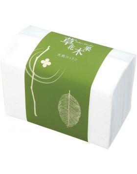 草花木果 天然コットン 88枚入 キナリ