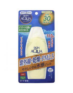 スキンアクア マイルドジェル SPF30/PA+++ 110g ロート製薬