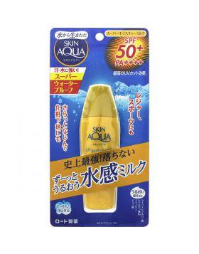 スキンアクア スーパーモイスチャーミルク SPF50+/PA++++ 40ml ロート製薬
