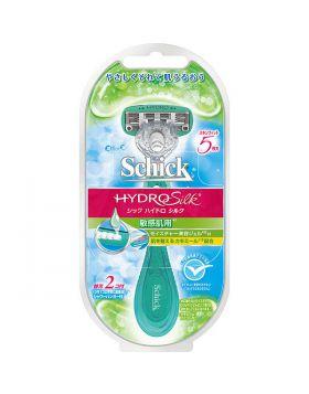 ハイドロシルクホルダー敏感肌用 本体+替刃2個付 カミソリ シックジャパン