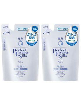 専科パーフェクトエッセンスシルキーホワイトフレッシュ(美白化粧水 さっぱり) つめかえ用 180mLX2個 資生堂