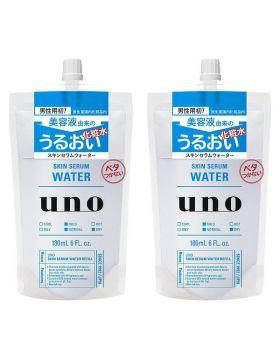 UNO(ウーノ) スキンセラムウォーター 詰替え用 180mL 資生堂 ×2個