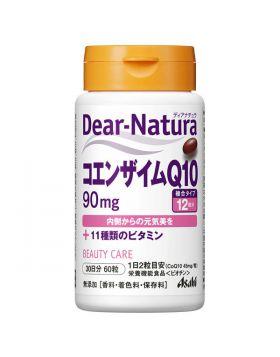 ディアナチュラ(Dear-Natura) コエンザイムQ10 90mg+11種類のビタミン 30日分(60粒入) アサヒグループ食品 サプリメント