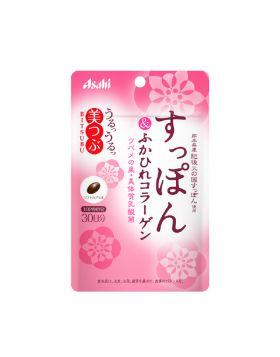 美つぶ すっぽん&ふかひれコラーゲン 1袋(60粒 30日分) アサヒグループ食品 サプリメント
