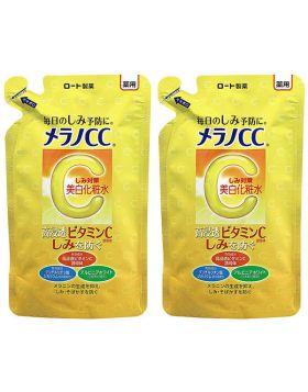 メラノCC 薬用しみ対策 美白化粧水 つめかえ用 170ml×2個 ロート製薬