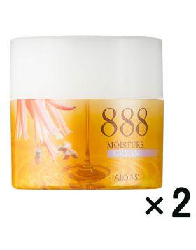 ハチミツコラーゲン クリーム 1セット(50g×2個) アロインス化粧品